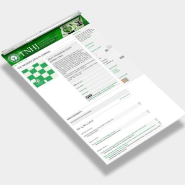 OJS - The Nigerian Health Journal