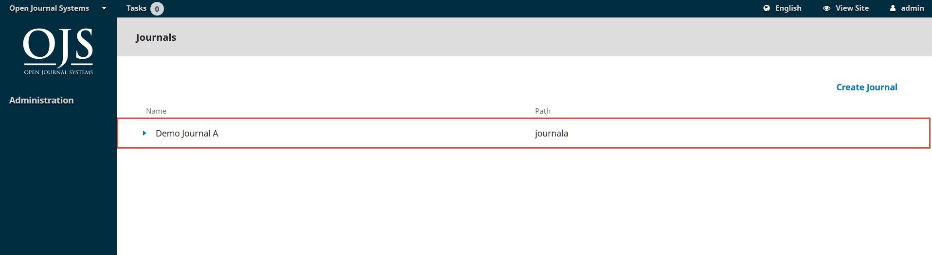 OJS 3.x hosted journals