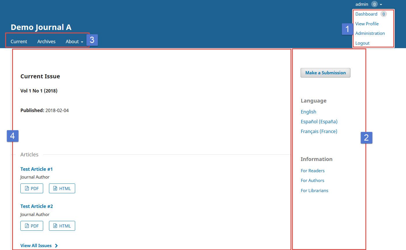 OJS 3.x reader interface