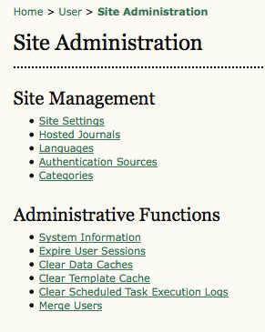 ojs2-2-site-administrator